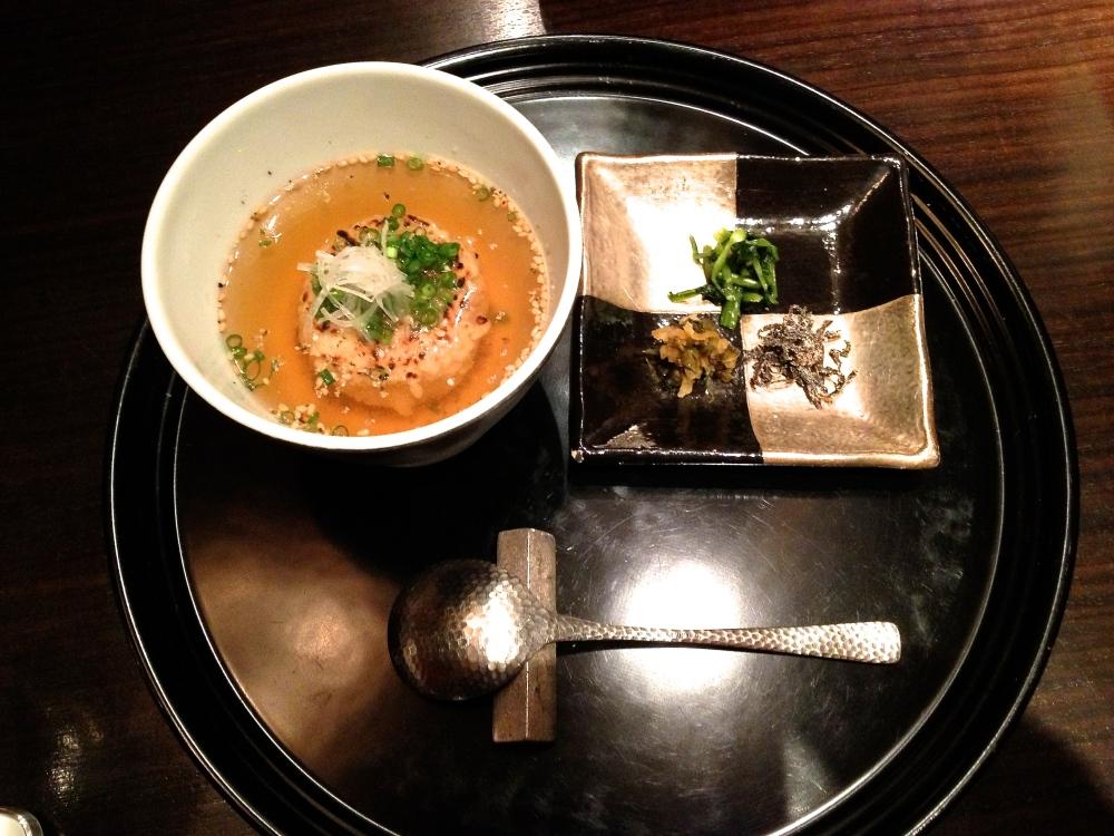 The garlic rice