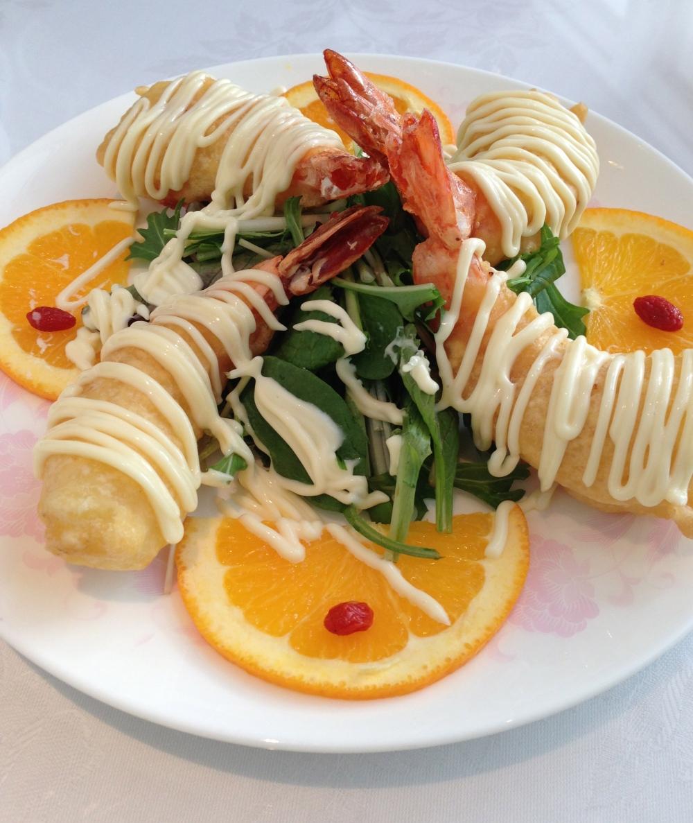 Prawn mayonnaise
