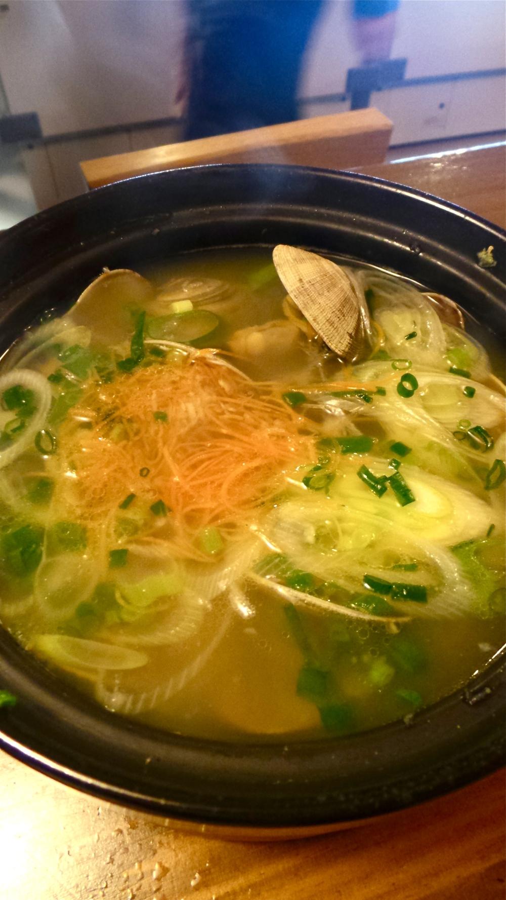 Asahi clam soup