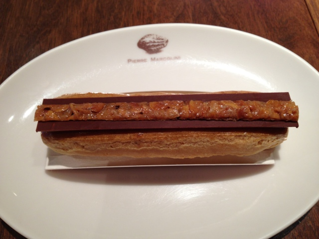 The salty caramel eclair