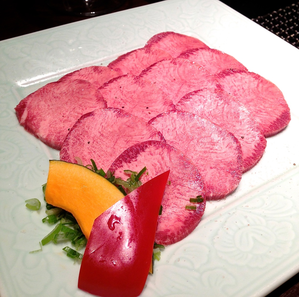 The beef tongue