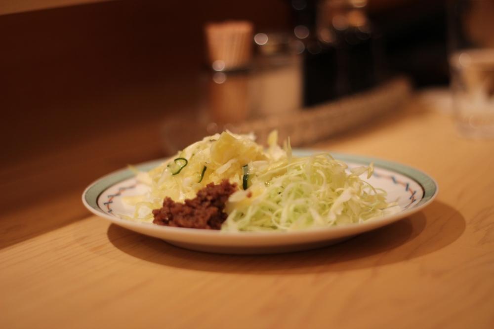 Japanese coleslaw starter