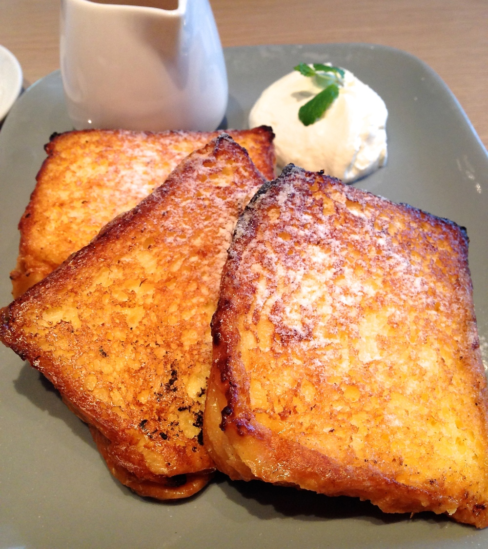 Heavenly brioche french toast